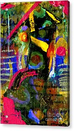 Things To Come Acrylic Print by Angela L Walker