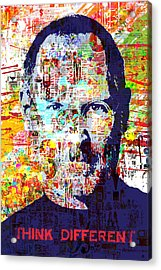Think Different Acrylic Print