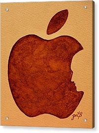 Think Different Steve Jobs 3 Acrylic Print