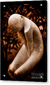 Thinking About You Acrylic Print by Venetta Archer