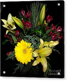 Thinking Of You Bouquet Acrylic Print