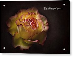 Thinking Of You... Acrylic Print