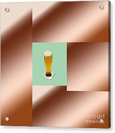 Third Beer On The Wall Acrylic Print by Tina M Wenger