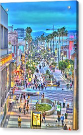 Third Street Promenade Acrylic Print