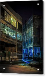 Third Ward Alley Acrylic Print by Scott Norris
