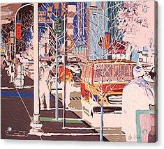 Thirteenth And J Acrylic Print by Paul Guyer
