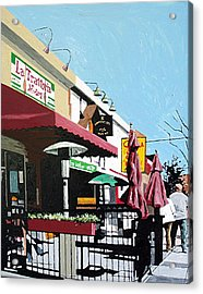 Thirty Sixth And J Acrylic Print by Paul Guyer