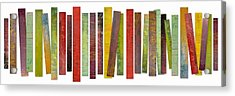 Thirty Stripes 2.0 Acrylic Print by Michelle Calkins