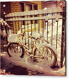 This Bike Hasn't Moved In 5 1/2 Years Acrylic Print