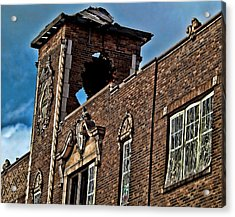 This Building Is History Acrylic Print by Kristie  Bonnewell