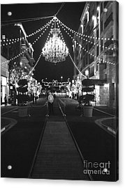 This Is A Classy Town Acrylic Print by Lynsie Petig