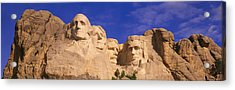 This Is A Close Up View Of Mount Acrylic Print by Panoramic Images