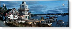This Is A Lobster Village In New Acrylic Print