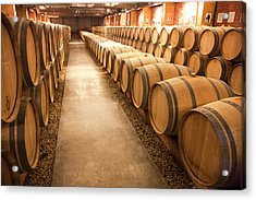 This Is A Storage Area For Wine Acrylic Print