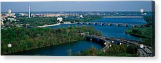 This Is An Aerial View Of Washington Acrylic Print by Panoramic Images