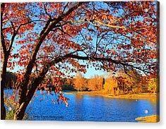 This Is Autumn - Signature Print Acrylic Print