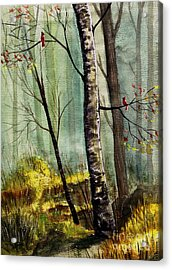 This Is My Territory Acrylic Print by Marilyn Smith