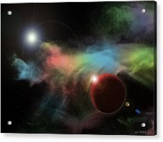 This Is Not Space Acrylic Print