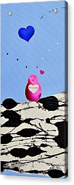 Acrylic Print featuring the painting This Is So Fun by Christine Ricker Brandt