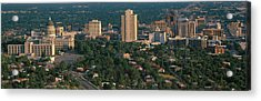 This Is The State Capitol And Skyline Acrylic Print