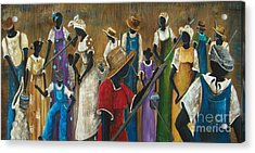 This Joy I Have Acrylic Print by Sonja Griffin Evans