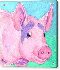 This Little Piggy Acrylic Print