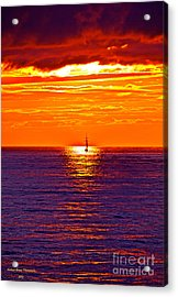 This Must Be Heaven - When Dreams Come True - Thank You Acrylic Print by  Andrzej Goszcz