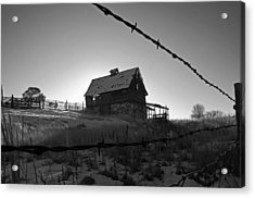 Acrylic Print featuring the photograph This Old Barn by Eric Rundle