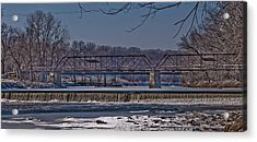 This Old Bridge Acrylic Print