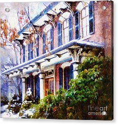 This Old Colonial House  Acrylic Print by Janine Riley
