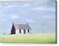 This Old House Acrylic Print by Ana Bianchi