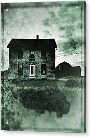 This Old House Acrylic Print by Jeff Klingler