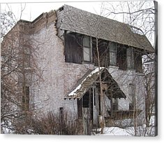 This Old House Acrylic Print by Jonathon Hansen