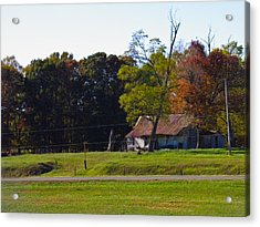Acrylic Print featuring the photograph This Old House by Nick Kirby
