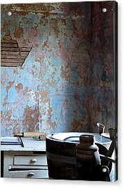 This Old House Acrylic Print by Terry Eve Tanner