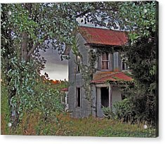 This Old House Acrylic Print by Trish Clark