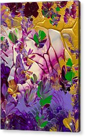 This Planet Earth Acrylic Print by Nan Bilden