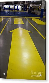 Acrylic Print featuring the photograph This Way Out by Jim West