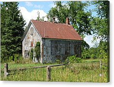 This Will Be Our Last Lesson Today Acrylic Print by Richard Stanford