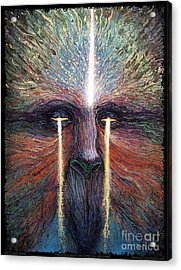 This World Weeps For A Spiritual Awakening Acrylic Print