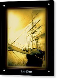 Th'lord Nelson Acrylic Print by Ritchard Mifsud