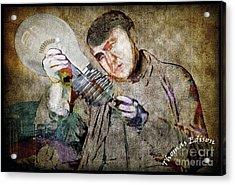 Thomas Alva Edison Acrylic Print