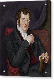 Thomas Buxton Acrylic Print by Maria Platt-evans