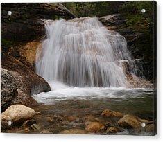 Thomas Canyon Waterfall Acrylic Print by Jenessa Rahn