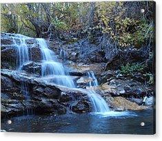 Thomas Creek Falls Acrylic Print by Jenessa Rahn