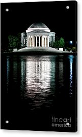 Thomas Jefferson Forever Acrylic Print by Olivier Le Queinec