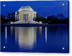 Thomas Jefferson Memorial Acrylic Print by Andrew Pacheco