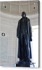 Thomas Jefferson Statue Acrylic Print