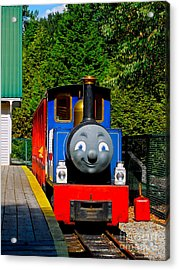 Acrylic Print featuring the photograph Thomas by Sher Nasser