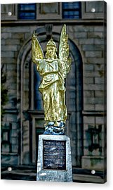 Thomas Wolfe Memorial Angel Acrylic Print